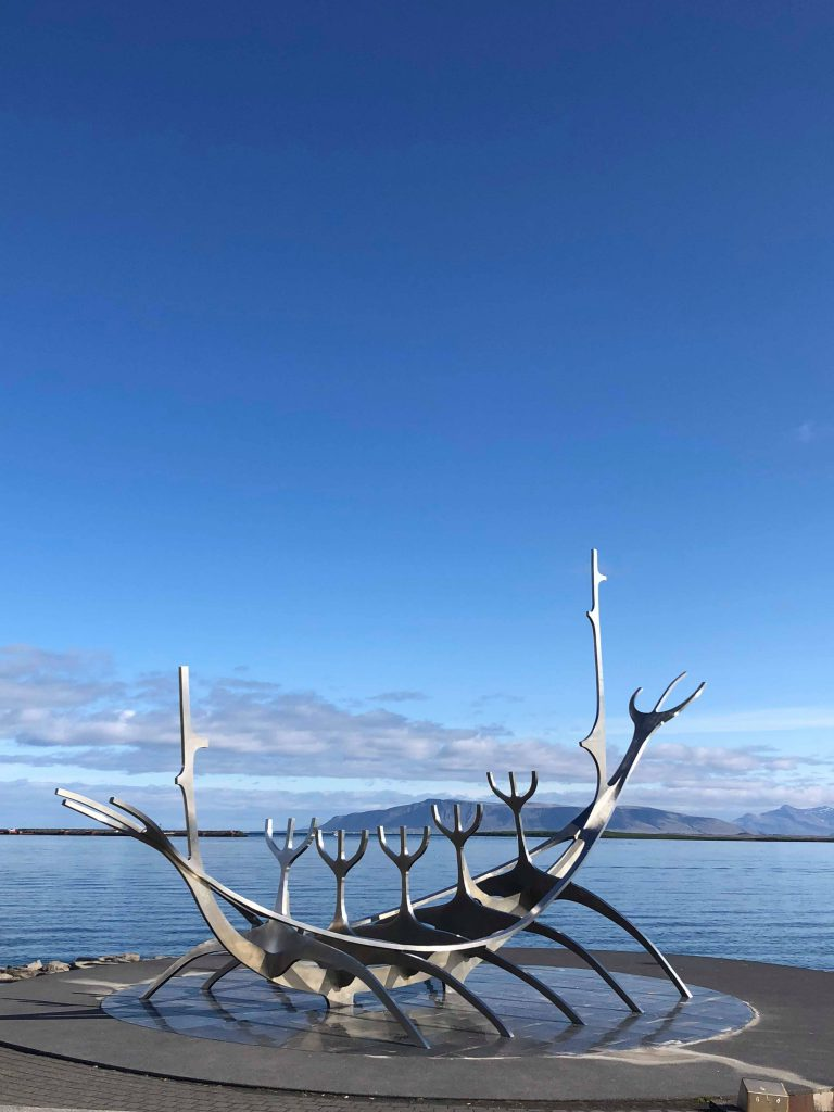 The Sun Voyager during daytime